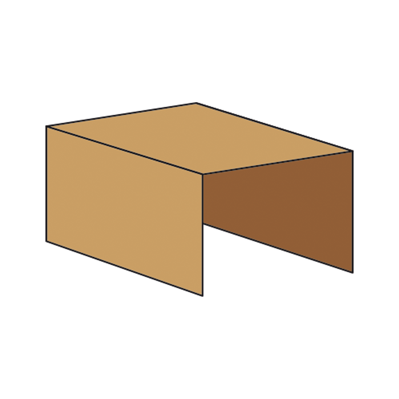 Kasse indlæg P951 - 3 mm pap