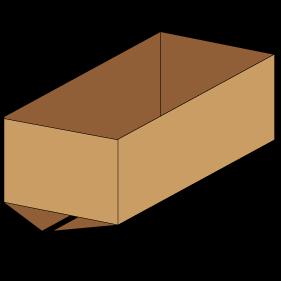 Kasse F200 - 3 mm pap