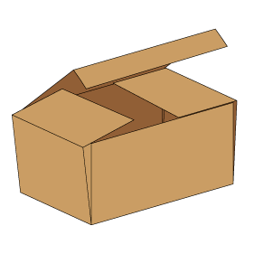 Kasse F443 - 5 mm pap