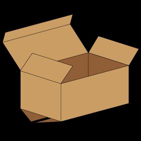 Kasse F212 - 5 mm pap