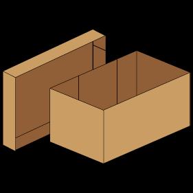 Kasse F306 - 5 mm pap