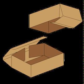 Kasse F331R - 5 mm pap