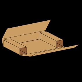 Kasse F0403 - 7 mm pap