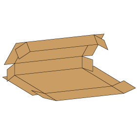 Kasse F409 - 3 mm pap