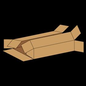 Kasse F411 - 3 mm pap