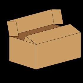 Kasse F416 - 3 mm pap