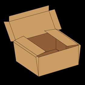 Kasse F427 - 5 mm pap