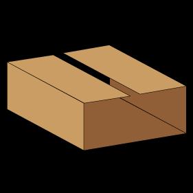 Kasse indlæg F910 - 3 mm pap