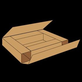 Kasse P403C - 7 mm pap
