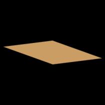 Kasse indlæg F900 - 7 mm pap