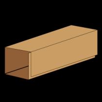 Kasse indlæg F914 - 7 mm pap