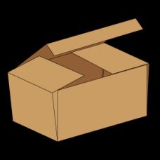 Kasse F443 - 3 mm pap