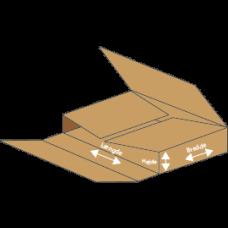 Kasse P404 - 3 mm pap