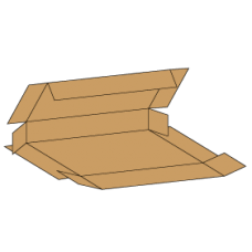 Kasse F410 - 3 mm pap