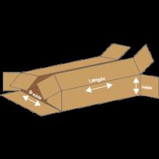 Kasse F411 - 5 mm pap