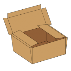 Kasse F427 - 7 mm pap