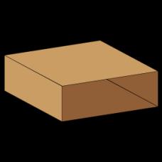 Kasse indlæg 0502 - 7 mm pap