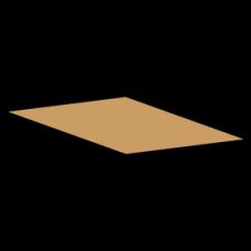 Kasse indlæg F900 - 3 mm pap